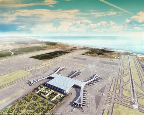 Bus Floor Plans by Istanbul New Airport Will Have Six Runways And The World S