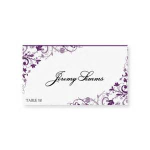 Place Card Template Microsoft Word by Instant Wedding Place Card By Diyweddingtemplates