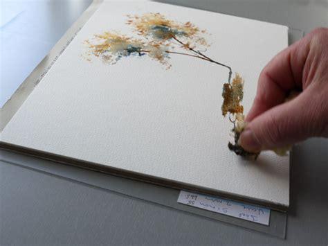 watercolor ombre tutorial ombre arbre watercolour tutorials pinterest ombre