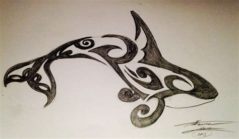 tribal tattoo quebec orca tribal tattoo by adribelle35 d7mzn9y jpg 1024 215 597