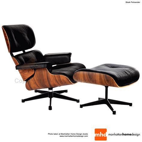 eames lounge chair replica black manhattan home design - Best Reproduction Eames Lounge Chair