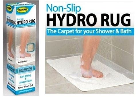 Antimicrobial Bath Rug by Hydro Rug Antimicrobial Bath And Shower Mat