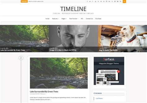 timeline template blogger images templates design ideas