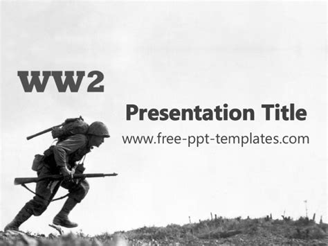 Ww2 Ppt Template War Powerpoint Template