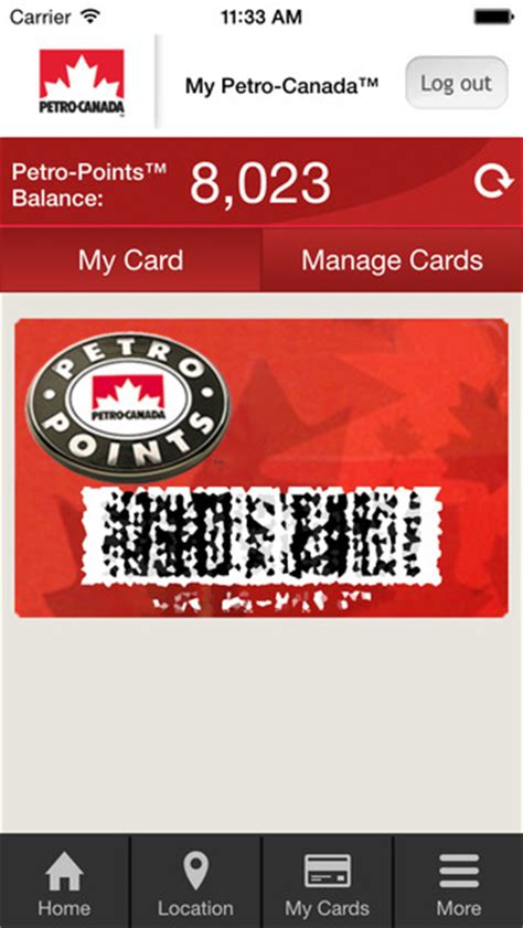 Balance On My Petro Canada Gift Card - petro canada mobile update brings digital petro points card to your iphone iphone in