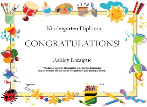 templates for certificates for students end of year certificates for students