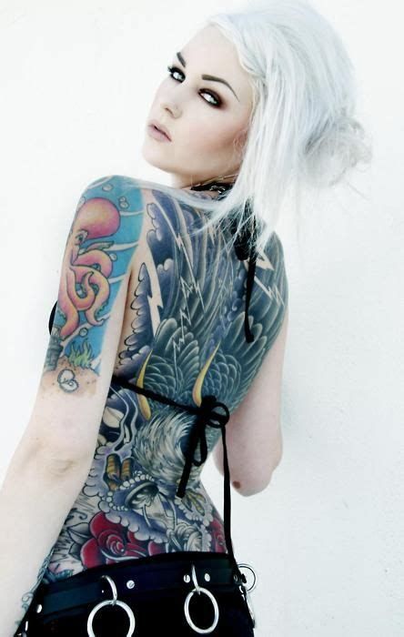 beautiful naked girls with tattoos with sleeves models inked of the day