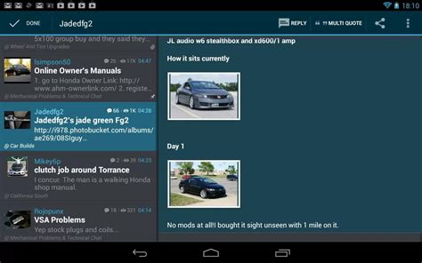 tapatalk apk tapatalk hd community reader v1 4 0 apk android club4u android trends