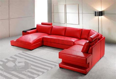 Red Sofa Recliner by Red Reclining Sectional Sofas 13 Extraoradinary Red