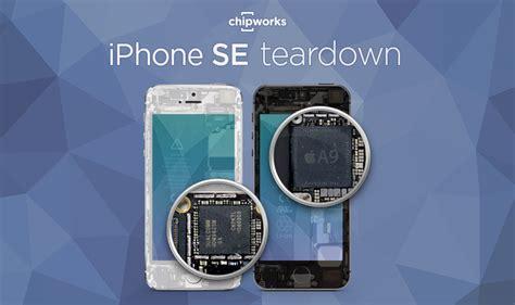apple iphone se  seine bestandteile zerlegt
