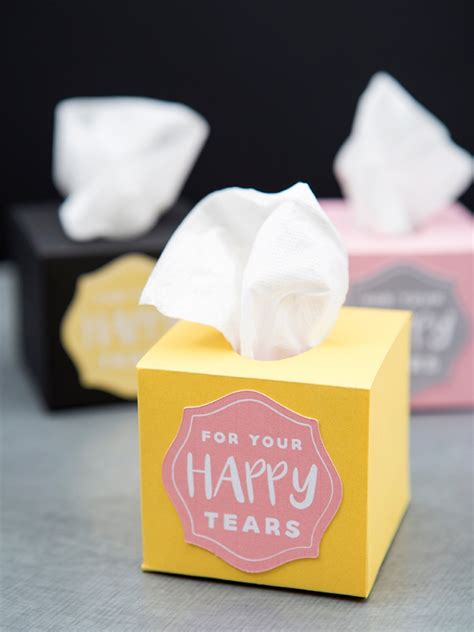 Wedding Tissue Box by These Mini Wedding Tissue Boxes Are A Must Make Diy Project