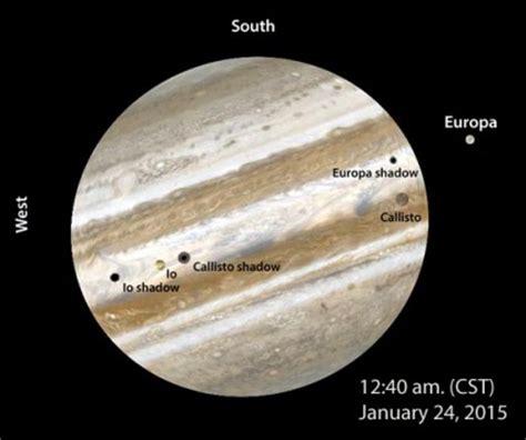 rare triple shadow transit not to miss! sky & telescope