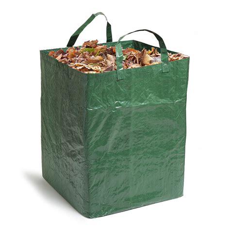 sac pour dechets de jardin sacdechetsjardin220lrempli