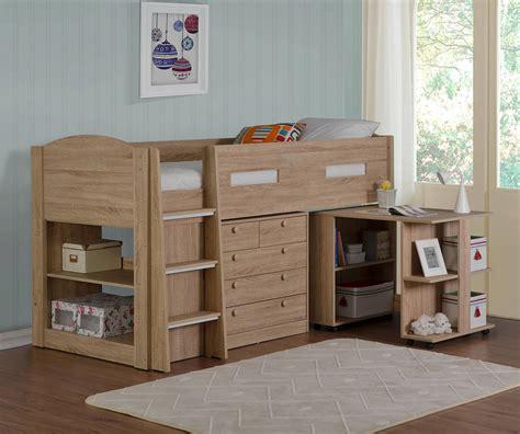 flintshire furniture frankie frankie oak mid sleeper bed