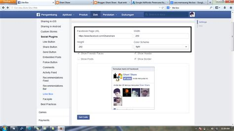 membuat robot like facebook cara membuat tombol like facebook di blog website cari