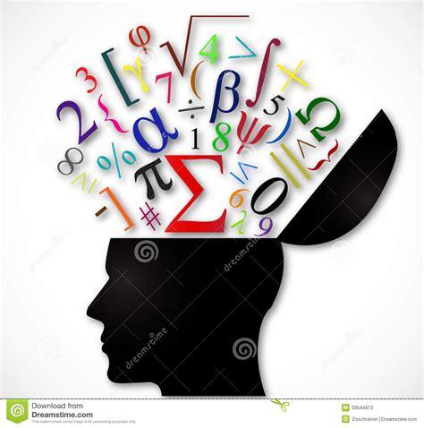 imagenes de simbolos foneticos cabeza humana abierta con s 237 mbolos matem 225 ticos del color