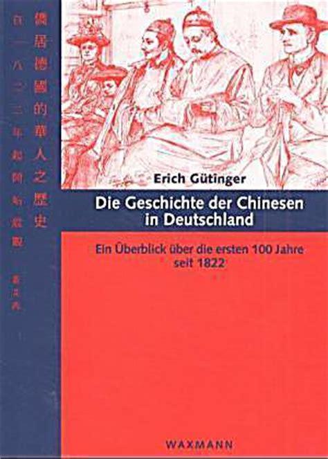 wann ist sale in deutschland die geschichte der chinesen in deutschland buch portofrei