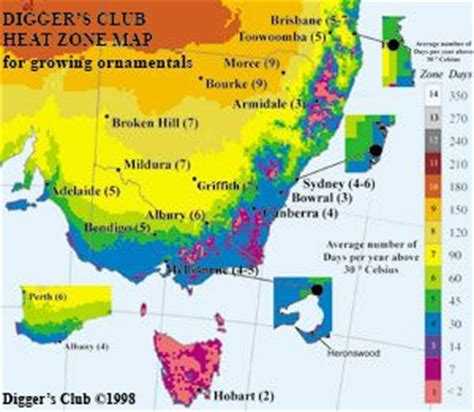 gardening zones australia climate guide gardening