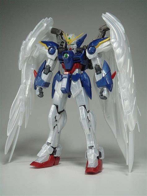 Wing Gundam Zero Ew Pearl Gloss Ver Real Grade Rg Bandai gunpla expo rg 1 144 wing gundam zero ew pearl gloss ver detailed review no 33 images