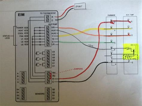 carrier digital thermostat wiring diagram get free image