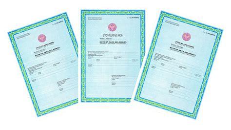 membuat akta kelahiran anak tanpa surat nikah info info bebas akta kelahiran