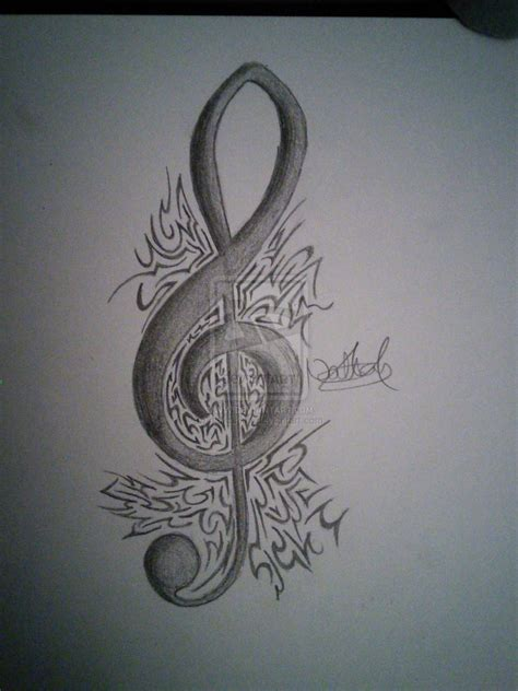 treble bass clef tattoo designs treble clef designs www imgkid the image