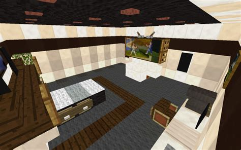 Modern Bedroom Minecraft Small Modern Bedroom By Pubbie Minecraft Project