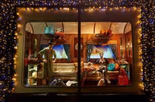 quot the harrods express quot christmas window display 2013 best