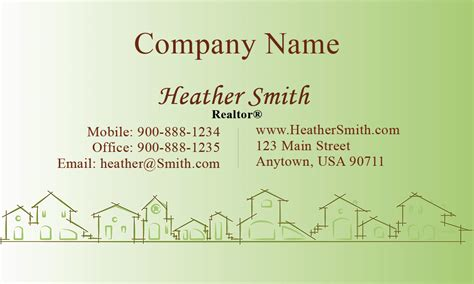 What Are The Properties For Buisness Card Templates by Real Estate And Property Management Business Card Design