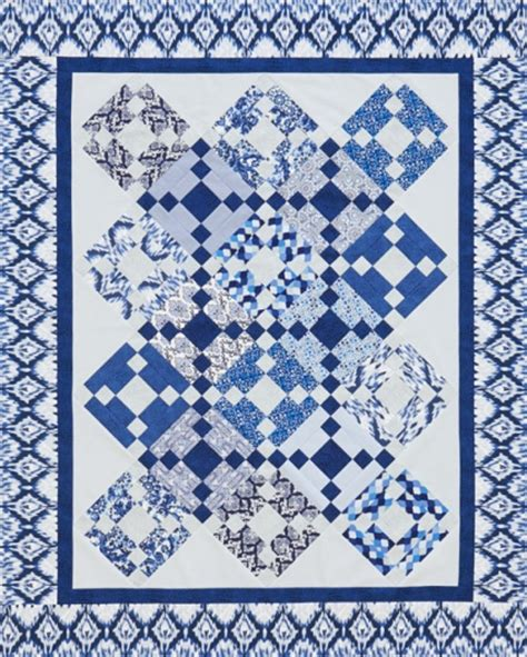 pattern for two color quilt two color quilts allpeoplequilt com
