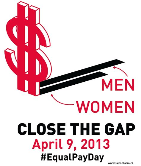equal pay day april 9 2013 the ontario federation of