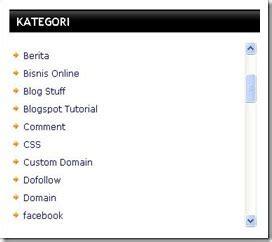 cara membuat scroll pada label blog kumpulan info tips 2 cara paling penting memasang dan membuat scroll pada
