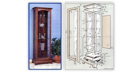 curio display cabinet plans curio cabinet plans woodarchivist