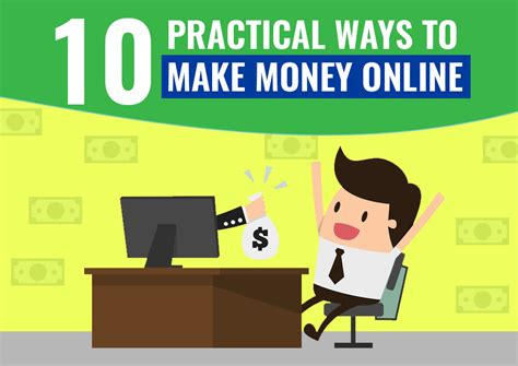 Make Money Online Today - 10 outstanding ways to make money online today
