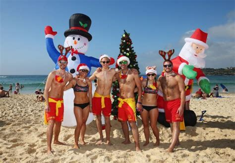 aussie christmas traditions mi gold coast tourism