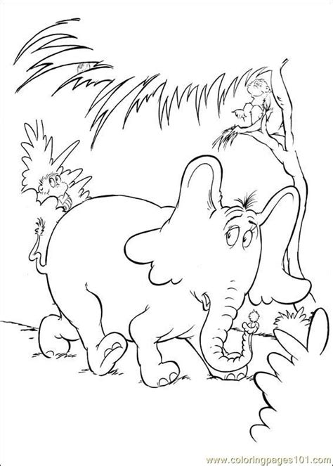Horton Coloring Pages the horton characters coloring pages coloring pages