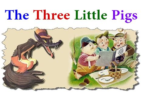 three stories the three little pigs story online