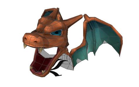 Papercraft Charizard - papercraft charizard images images
