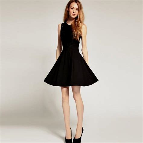 Black Simple Casual Dress casual black dresses for naf dresses