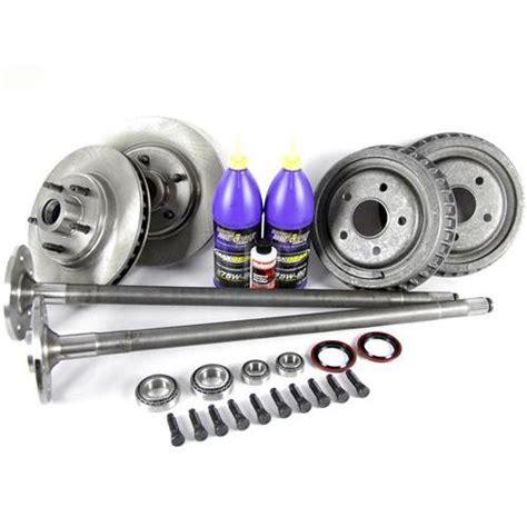mustang 5 lug conversion kit 28 spline axles 87 93