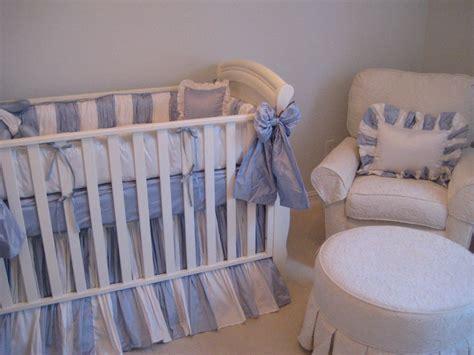 Vanessa Crib With Little Bunny Blue Bedding Bellini Bellini Crib Bedding