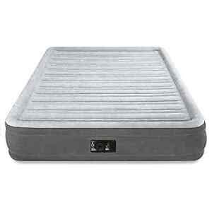 intex air mattress size comfortable airbed with built in electric ebay