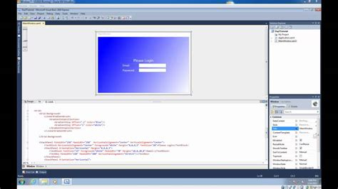 xaml default layout wpf tutorial 5 wpf layout system youtube