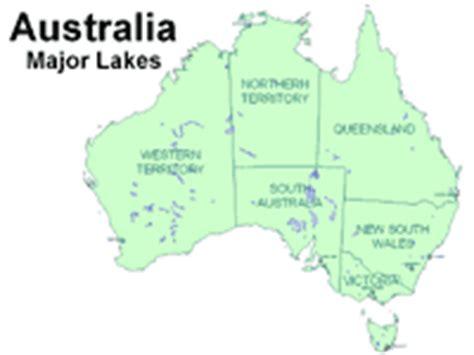 lakes in australia map image gallery lakes in australia map