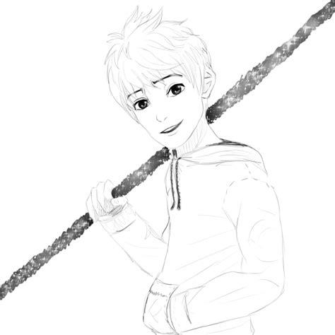 lineart jack frost by isayuuki on deviantart