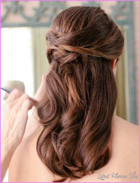 Bridesmaid Hairstyles Medium Length Hair Half Up by Bridal Hairstyles Half Up Medium Length