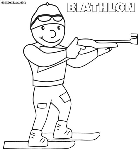 winter sport coloring pages coloring pages to download