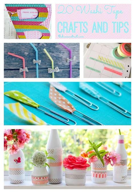 Washi Paper Crafts - 20 washi crafts and tips washi washi and craft