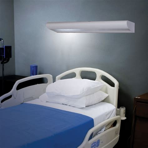 Hospital Bed For Sale Wing Overbed Light Led Famco
