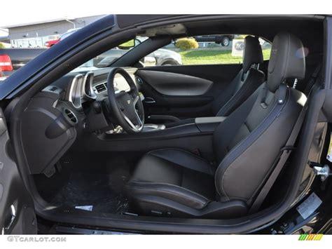 2012 Camaro Interior by Black Interior 2012 Chevrolet Camaro Ss Rs Convertible